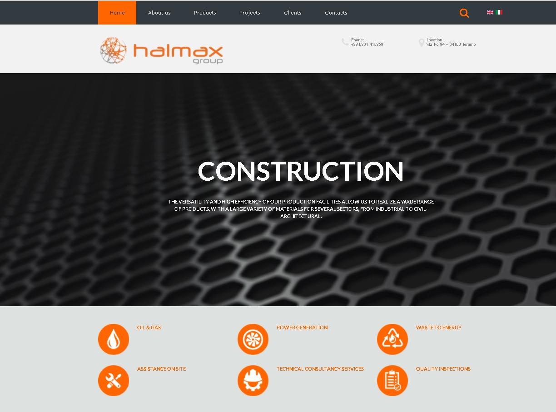 halmax_group_website